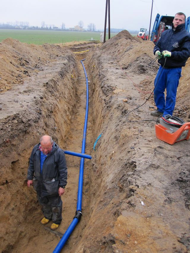 Erneuerung Vesorgungsleitung bei Frauenhain | TWZV Pfeifholz